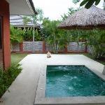 spa at each villa