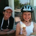 ice cream cyclist!