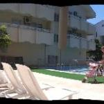 paronamic view around the pool