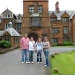 Beautiful country manors around Liverpool