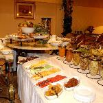 Breakfast at the 3-star Peermont Metcourt Suites at Emperors Palace, Johannesburg, Gauteng