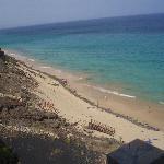 Bajada del Hotel a la Playa