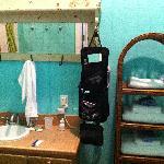 Upstairs villa bathroom