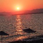 Sunset at Calis Beach