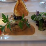 Escargot and wild mushrooms