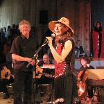 "Haida singer, Terri-Lynn Williams-Davidson, with Producer on launch of new CD, ""New Journeys"""