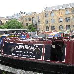 Boot vor dem Canal Museum