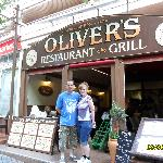 outside Olivers