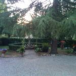 Courtyard at Residence I Colli