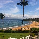 Wailea Beach from the resort