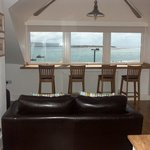Fab sea views from The Crowsnest
