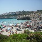 The main beach!