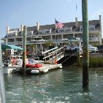 The Inlet Inn from the water
