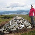 Isabel on Beinn Dubh, bei Loch Lomond