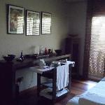 cabine du spa