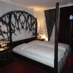 Das Schlafzimmer...
