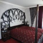 Das Schlafzimmer....
