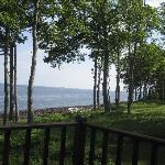 View from the Loon cottage deck