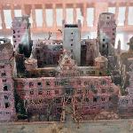 Model of the Gutted Johannisburg Palace in 1945