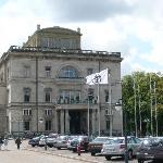 Villa Hügel - Nordseite / Eingang