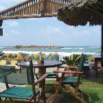 Dolphinbar, Malia Blick aufs Meer, totale Entspannung, kühle Drinks, gute Küche