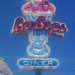 Be-Bops neon sign