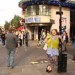 """In London nach dem Musical """"Mamma Mia"""""""