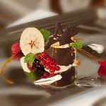 Postre/Dessert Salon Restaurante Marisquería Tres Encinas