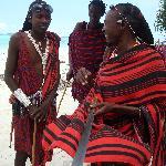 Massai-Jungs