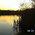 Schaute mit meinem Mann immer den Sonnenuntergang an während die Kinder am spielplatz spielten (