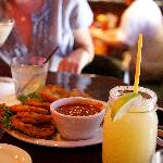 Mountain Margarita and Fried Green Tomatoes