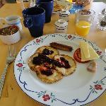 Tasty Swedish style breakfast