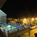 PM night shot of the pool ParkPlace