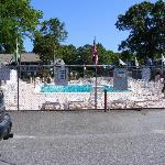 Clean Heated outdoor pool