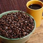Savor locally roasted, organic coffee every morning