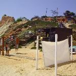 Again the beach