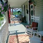 Porch July 2011