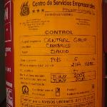 extintores sin revision