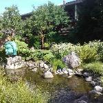 détail du jardin