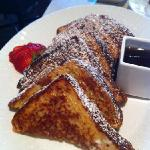 French toast made from Hawaiian sweet bread