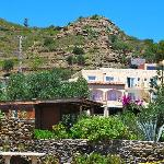 Cala Joncols, a traditional Spanish pension located right on the beach