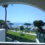 view from balcony (room J23)