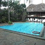 Pool area at Bamburi.
