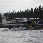 Float planes take you to the most remote parts of the lake