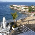 Das Fort von Copacabana direkt vor der Haustür