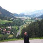 Ausblick vom Bauerhof Berger