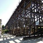 Capitola Eisenbahnbrücke