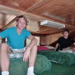 view of loft in cabin 70