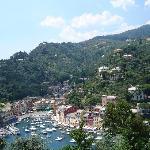 Portofino from Castle Brown