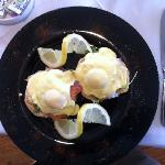 Eggs Benedict Supreme - Unique Breakfast Entre at Castlewood House